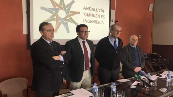 Rueda de prensa de la Asociación Superior de Ingeniería de Andalucía