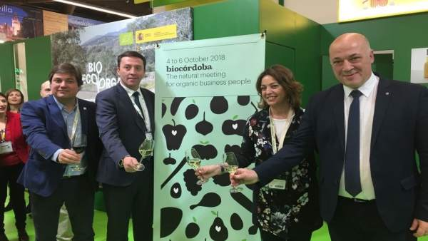 Representantes institucionales presentan BioCórdoba 2018 en Biofach