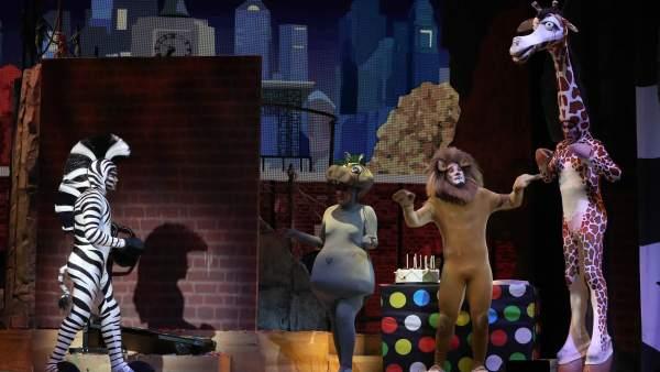 'Madagascar: el musical'.