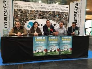Víctor Mateo, Laura Morón, Jesús Moya, Eduardo Madruga y Félix Sanz