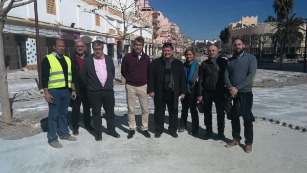 Benalmádena remodela el paseo del Generalife