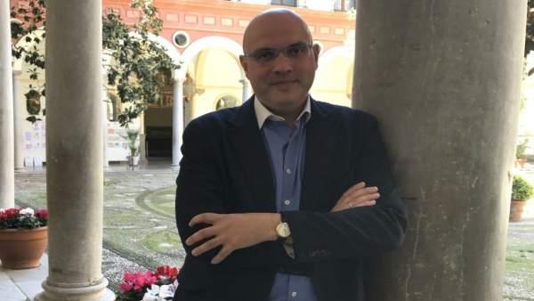 El portavoz de Ciudadanos en la Diputación, Raúl Fernández