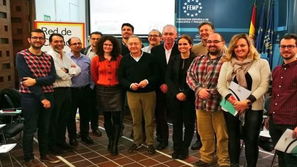 Reunión de la Junta Directiva de la Red de Ciudades por la Bicicleta