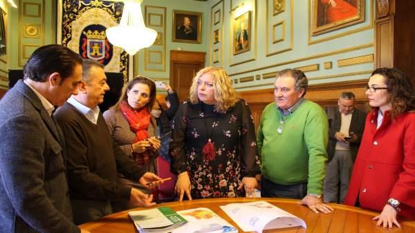 Reunión para la ampliación de los suelos cultivables