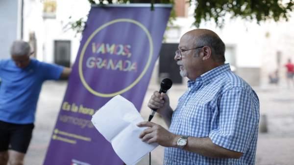 Diputado por Vamos Granada Luis de Haro-Rossi