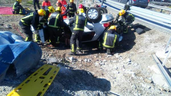 Accidente en la A-357 Málaga