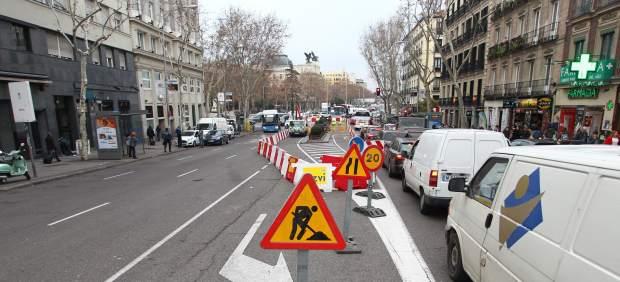 Arrancan las obras de reforma de las calles Atocha y Carretas: vía libre para el peatón en detrimento del coche