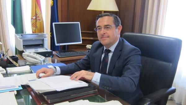 El subdelegado del Gobierno, Miguel Briones.
