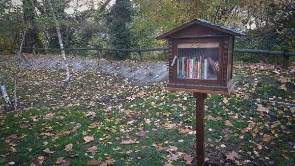 Bookbox del Molino de San Andrés.
