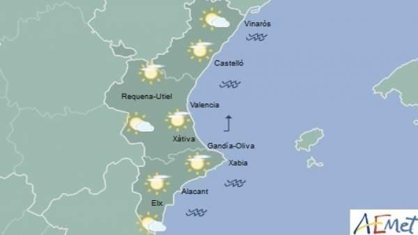 El cap de setmana comença amb cels nuvolosos i baixada de temperatures que donaran pas a pluges el dissabte