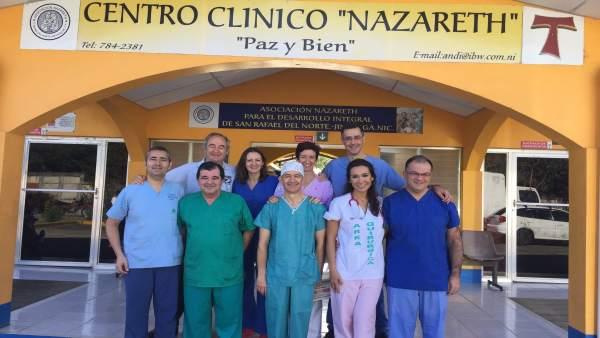Integrantes de la expedición a Nicaragua