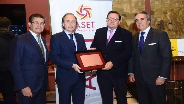 City Sigthseeing recibe el Premio ASET de Turismo