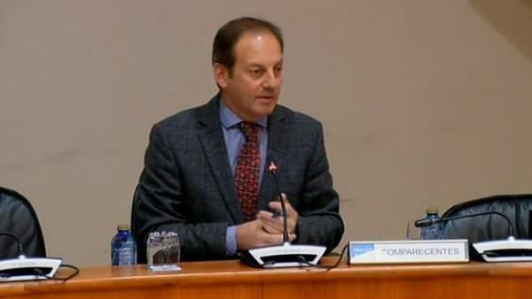 El director del Igape, en el Parlamento