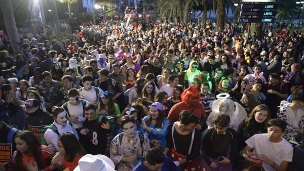 Gran Cabalgata del Carnaval de Las Palmas de Gran Canaria de 2017