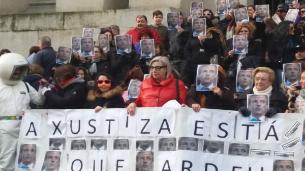 Funcionarios de justicia en huelga