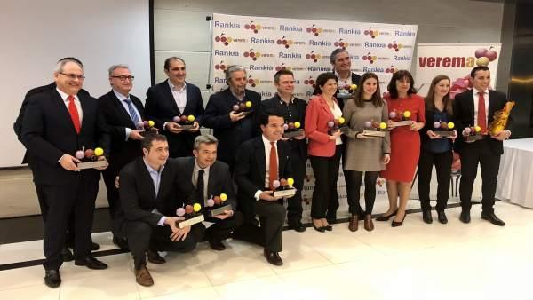 Lapuente recoge premio Verema 2017