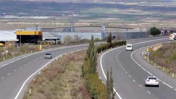 N-232 por La Rioja