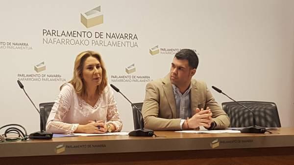 Ana Beltrán y Javier García.