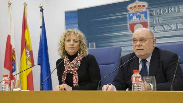 Eva Díaz Tezanos y Juan José Sota