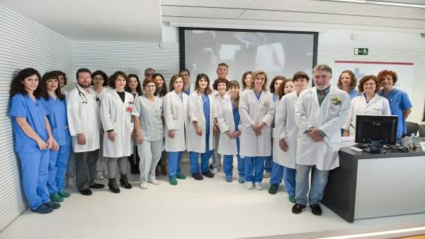 Equipo multidisciplinar implicado en el tratamiento.