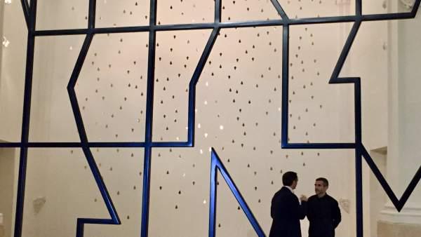 Javier Celdrán y  Javier Pividal presentan la exposición de la Sala Verónicas