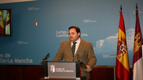 Gpp Clm (Cortes De Voz Y Fotografía) Rueda De Prensa De Francisco Núñez