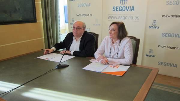 Alfonso Reguera y María José García.