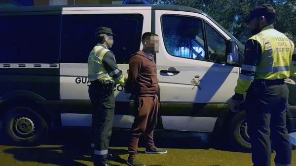 La Guardia Civil Detiene A Un Conductor Fugado De Un Control Por Conducción Teme