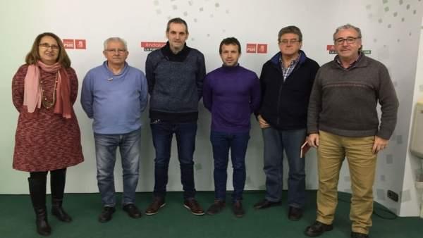Reunión PSOE y Amigos del Ferrocarril