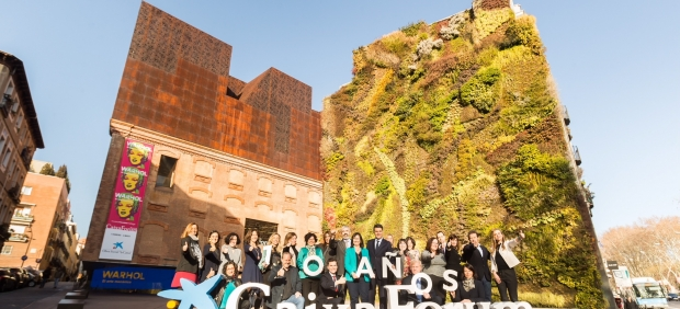CaixaForum Madrid: 10 años, 75 exposiciones, 300 actividades y 8,8 millones de visitantes