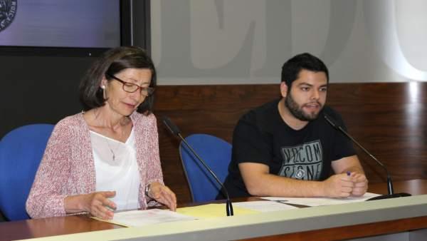 Rubén Rosón y Mercedes González