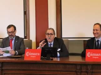 Rogelio Cuairán, Manuel Teruel y Alberto López.