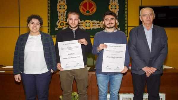 Silvia Arazuri, David Yerro, Fernando Zulategui y Francisco Arrarás.