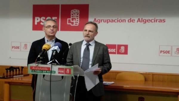 El diputado socialista Salvador de la Encina