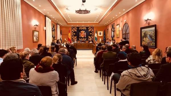 Pleno extraordinario de Alcalá de Guadaíra sobre el estado de la ciudad