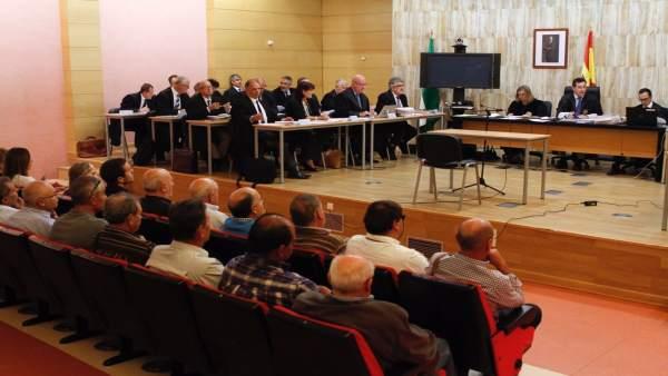 Primera sesión del macrojuicio por el 'caso Alhambra'