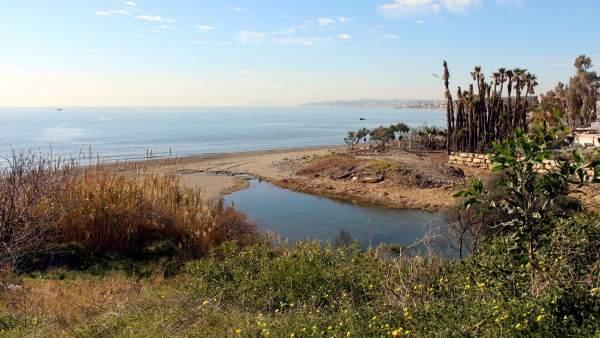 Arroyo Guadalobón Estepona Puente Senda Litoral Corredor Naturaleza Playa