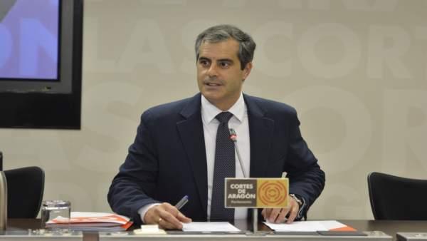 El portavoz adjunto de Cs Aragón, Javier Martínez.