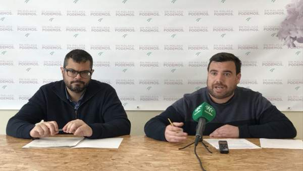 Serrato y Gil. Podemos. Málaga