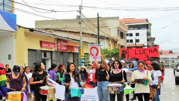 Madre Coraje y Ayuntamiento luchan contra la violencia de género en Perú