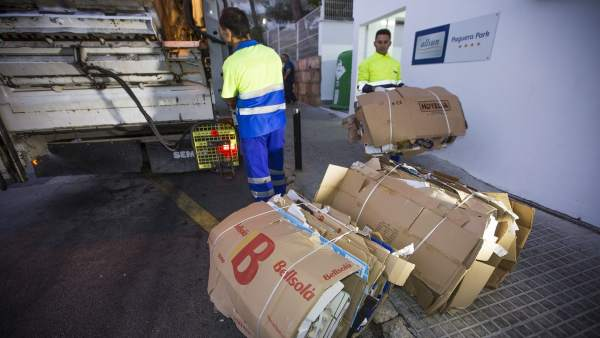 Calvià 2000 recoge residuos