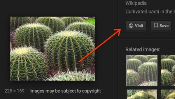 Google elimina el botón 'Ver imagen'