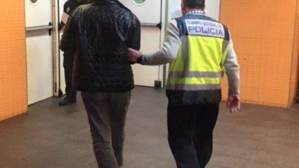 Detención del fugitivo en Benidorm