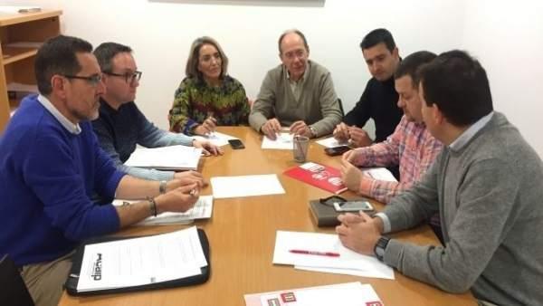 Reunión entre PSOE y Acaip