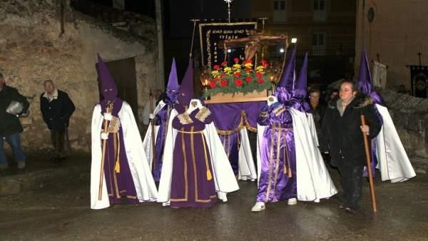 Palencia.- Semana Santa en la localidad de Baltanás