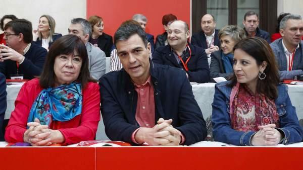 Pedro Sánchez, Narbona y Lastra