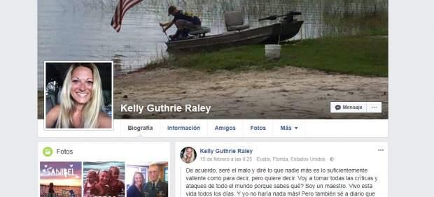 El contundente mensaje de la maestra del año en Florida a los padres tras la matanza