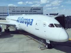 Aterriza en Barajas el primer Boeing 787-9 de Air Europa