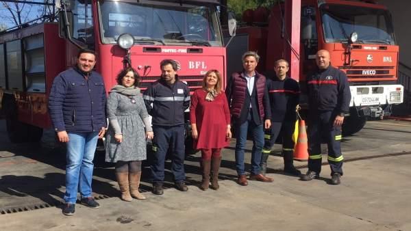 El PP plantea la construcción de un nuevo parque de bomberos en Montoro