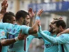 El Barça gana en Ipurúa sudando ante un buen Eibar